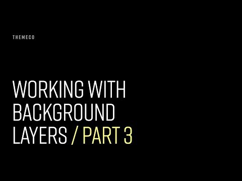 Working with Background Layers (Part 3)