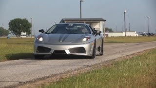 hpe700 twin turbo ferrari f430 scuderia test drive