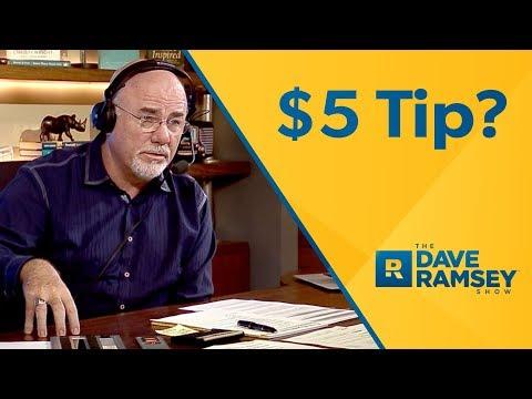$5 Tip To Park A $100,000 Range Rover!? - Dave Ramsey Rant