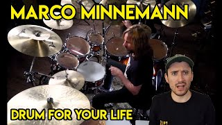 He's Too Good... Drum Teacher reacts to Marco Minnemann (Drum For Your Life)