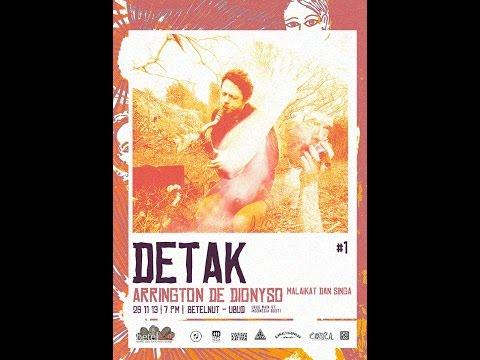 DETAK#1 present; ARRINGTON live concert Nov 2013 @ betelNut ubud bali