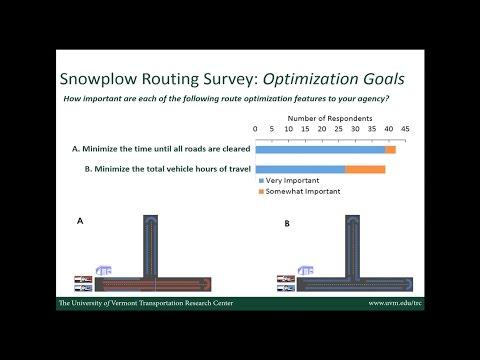 Clear Roads Best Practices in Snowplow Routing Webinar