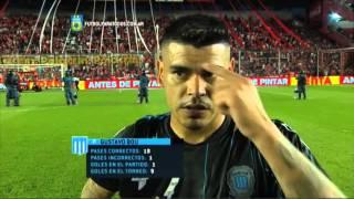 """""""Sabíamos que dependía de nosotros"""". Independiente 0 - Racing 2. Ida. Liguilla Pre Libertadores 2015"""