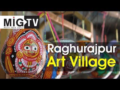 Raghurajpur Art Village| Pattachitra| Odisha heritage art