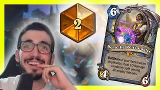 GOING FOR 1 WITH RENO MAGE | Saviors of Uldum | Hearthstone