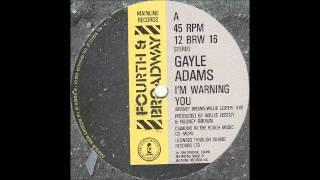 GAYLE ADAMS - I