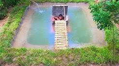 Build Secret Home Under Swimming Pool