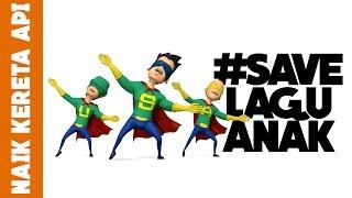SUPER USA - NAIK KERETA API #SaveLaguAnak