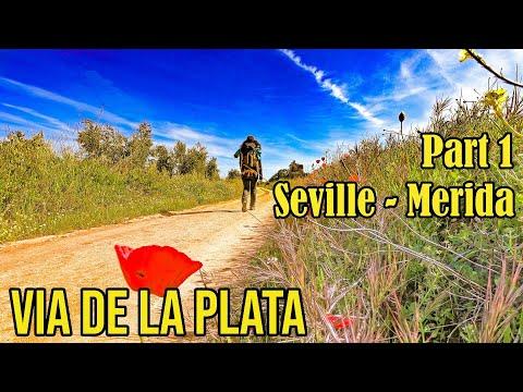via-de-la-plata-(camino-de-santiago).-part-1.-seville-to-mérida