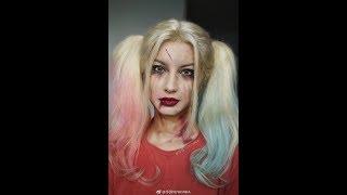 YUYAMIKA Make up painting of Harley Quinn