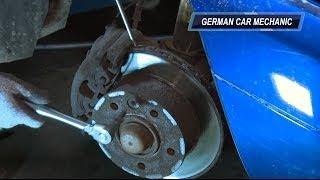 [ MERCEDES SPRINTER ] Замена тормозных колодок и дисков. How to Replace Disc Brakes.