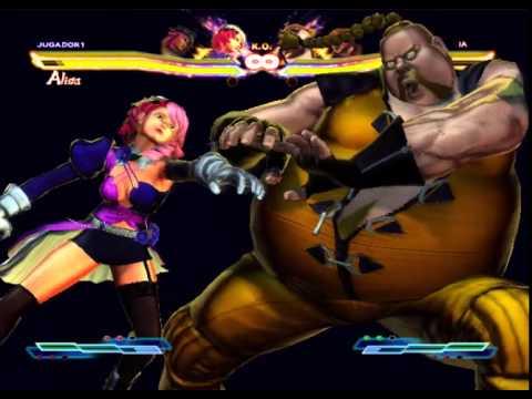 street fighter x tekken alisa y poison vs rufus y bob  (Brayan Carrillo)
