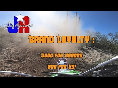"Brand loyalty? All Brands Suck! | ""Why Can't We Be Friends?"" MotoVlog"