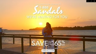 """Sandals Resorts - """"Where All Your Worries Disappear"""" Commercial"""