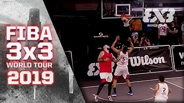 Lausanne v Lyon | Full Game | FIBA 3x3 World Tour - Lausanne Masters 2019