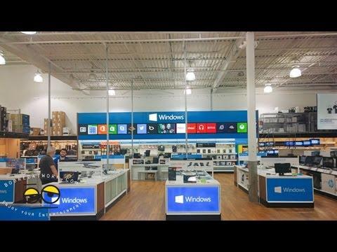 BestBuy Windows Stores Tour