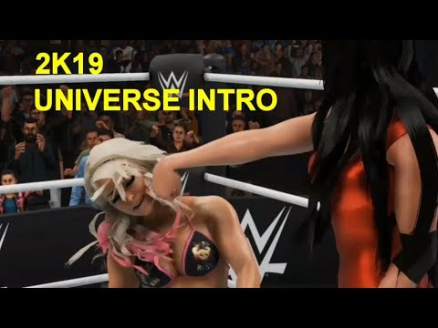 WWE 2K19 Universe New Intro Video