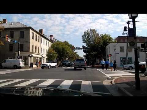 Drive King Street in Old Town Alexandria, VA 22314