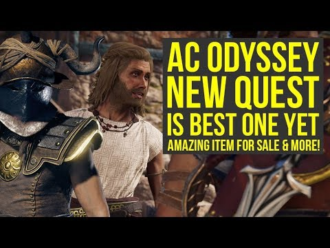 Assassin's Creed Odyssey DLC New Quest Is Amazing, Great Item For Sale & More (AC Odyssey DLC) thumbnail