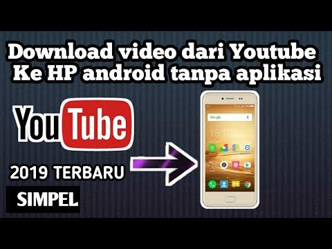 cara download video youtube di hp tanpa aplikasi