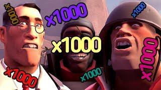 Геймплей: Team Fortress 2 - СЕРВЕР X1000