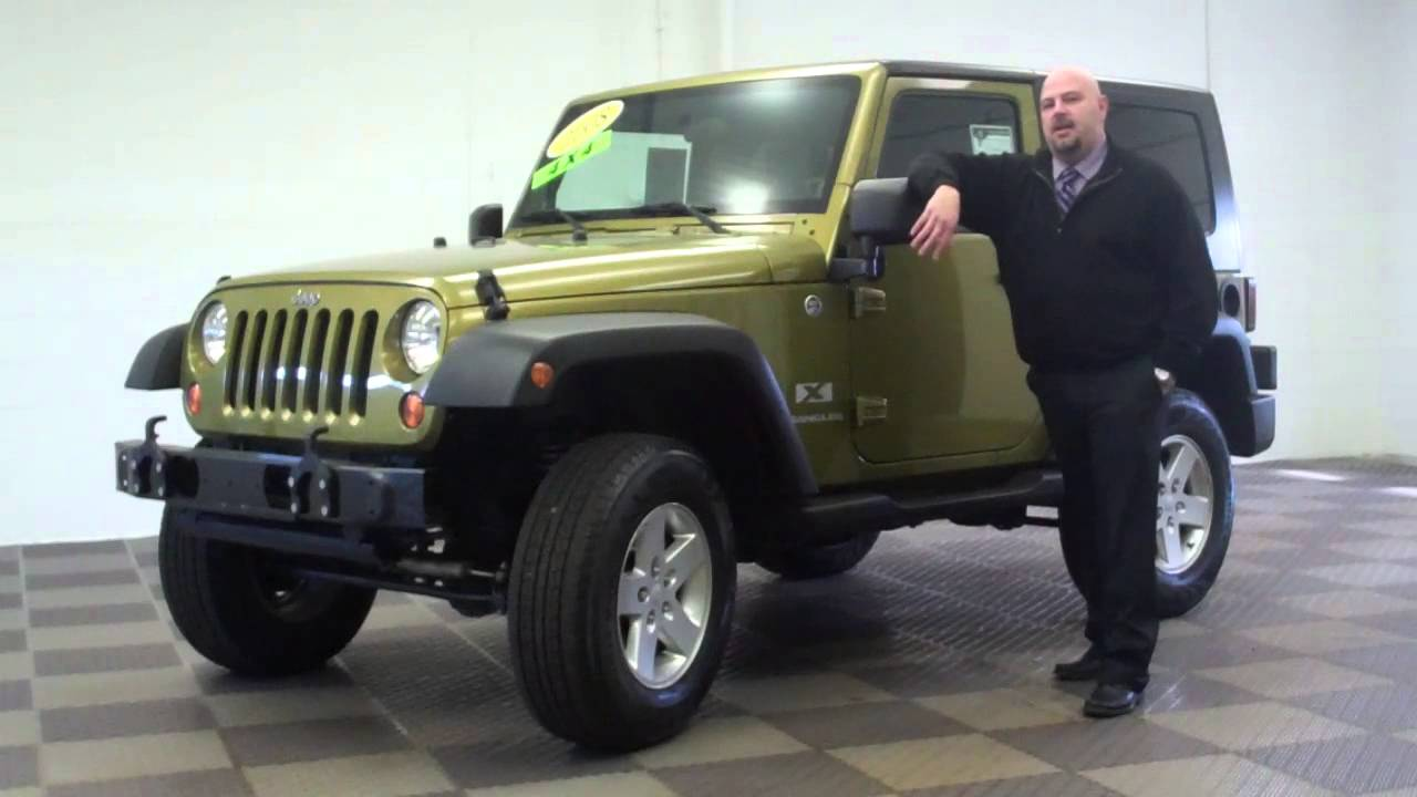 used jeeps for sale 2008 jeep wrangler youtube. Black Bedroom Furniture Sets. Home Design Ideas