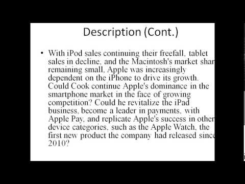 APPLE INC. IN 2015 - David B. Yoffie; Eric Baldwin - Case Solution and Analysis