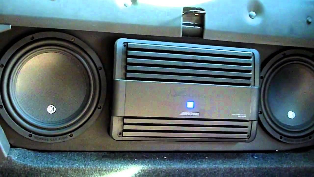 2011 Camaro Custom Sub Box Youtube