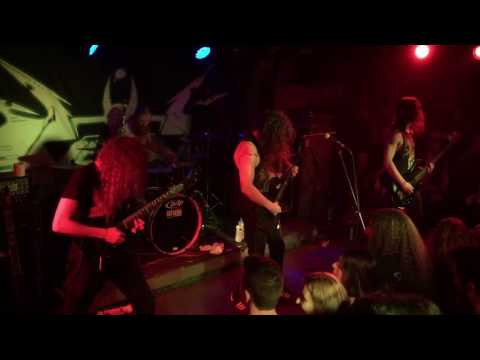 """Vektor performs """"Collapse"""" live in Athens @An Club {HD, 60fps} 23th of August 2016"""