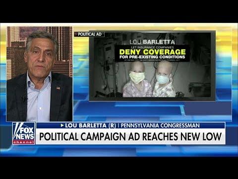 'It's Evil': Barletta Says Dem Sen. Casey's Ad Swiped at His Cancer-Stricken Grandson