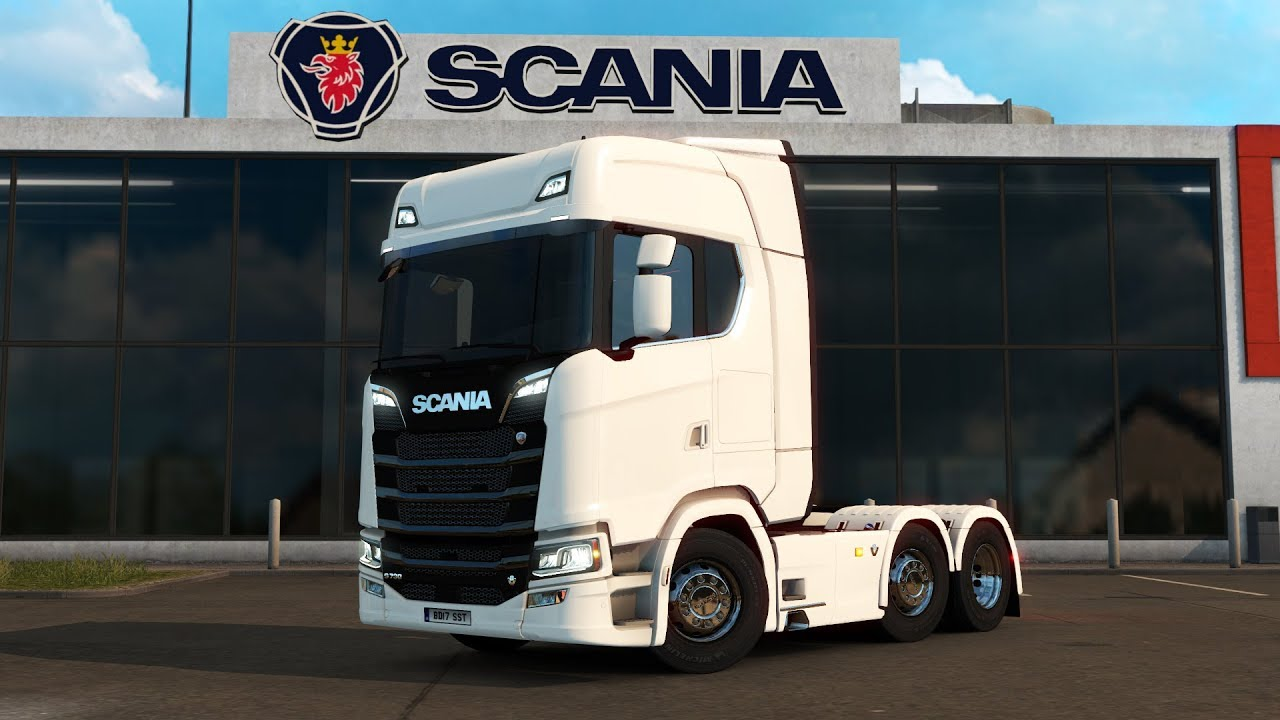 Euro Truck Simulator 2 New Scania S Series Test Drive Thursday 132
