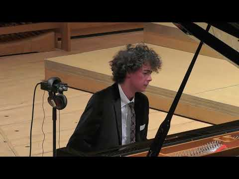 Can Cakmur performs Beethoven Op  101 SIPC 2017 Semifinals