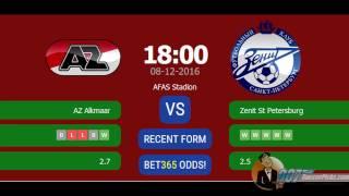 Video AZ Alkmaar vs Zenit Petersburg PREDICTION (by 007Soccerpicks.com) download MP3, 3GP, MP4, WEBM, AVI, FLV April 2018