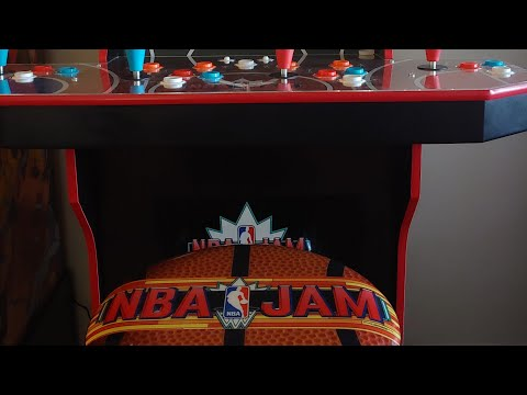 NBA Jam (Arcade1Up) Update to fix the New Online Update from Footie Laughs