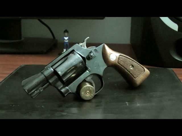 S&W Model 36 実銃レビュー Part 1