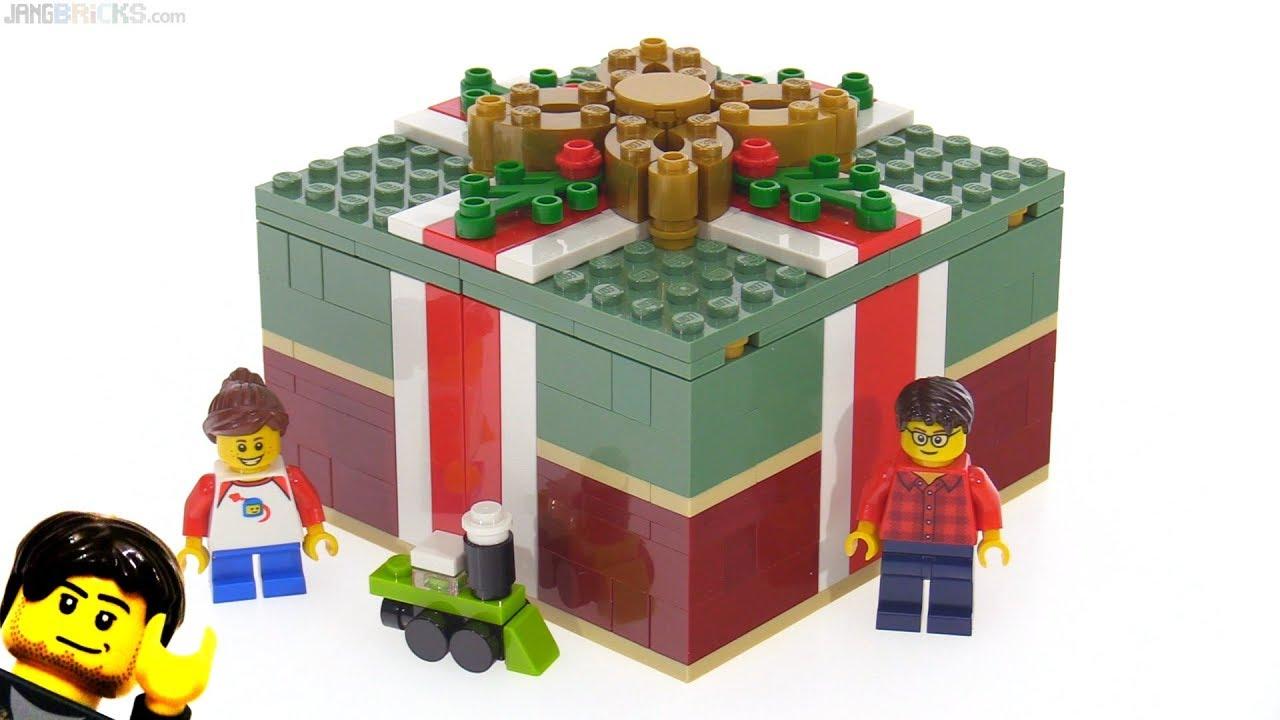 Lego Christmas.Lego Christmas Gift Box 2018 Promo Set Review 40292