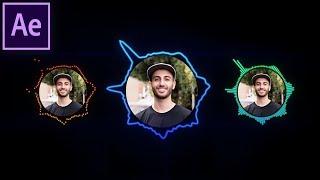 Wie erstellen Sie Audio-Reaktive Kreis-Wave-Spektren in Adobe After Effects | CC Tutorial