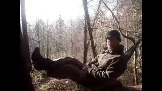 Diy hammock seat with a footrest