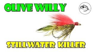 Olive Willy: Stillwater fly from Fly Fish Food