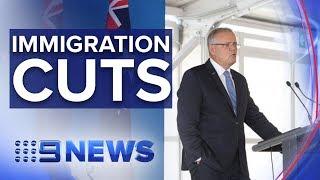 PM to announce new immigration cap | Nine News Australia