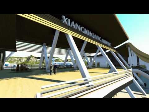 DESIGN INTERNATIONAL AIRPORT XIENG KHOUANG  LAOS