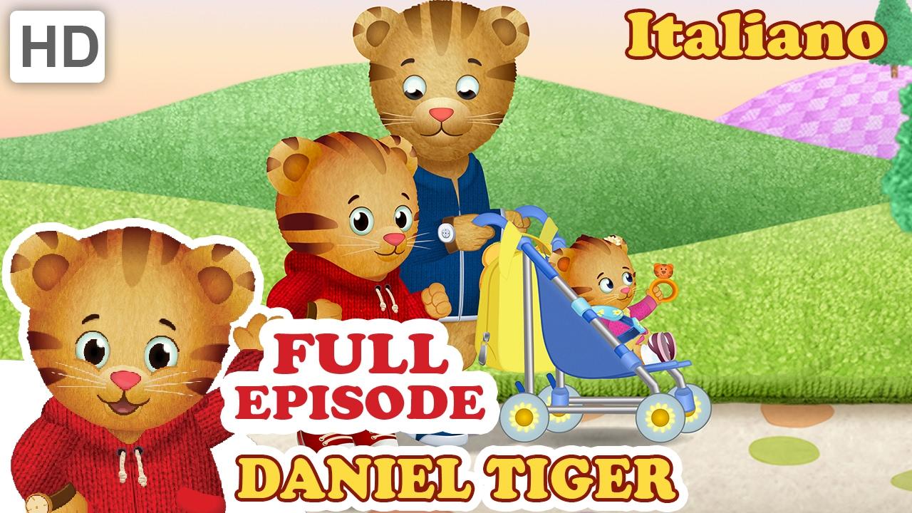 Daniel Tiger in Italiano - Il Principe Mercoledì trova un Modo per Giocare (HD Episodi Completi)