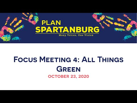 Planapalooza Focus Meeting 4: All Things Green
