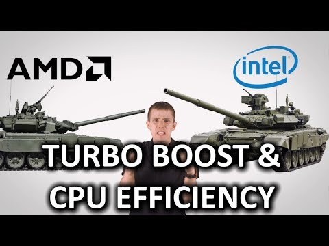 Turbo Boost & Processor Efficiency as Fast As Possible