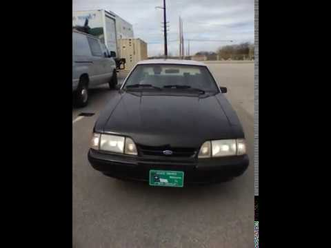 1993 North Carolina State Highway Patrol SSP Mustang Video 4 of 5