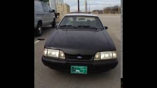 1993 North Carolina State Highway Patrol SSP Mustang Video 4 of 5