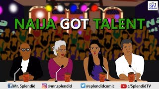 Download Splendid Tv Cartoon Comedy - Naija Got Talent (Splendid Tv Cartoon)