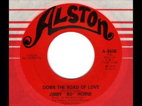 JIMMY BO HORNE  Down the road of love