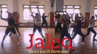 JALEO , ZIN 78 By NICKY JAM FT STEVE AOKI , ZUMBA FITNESS Video
