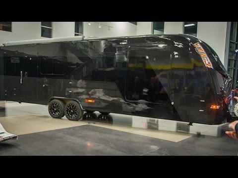 CR-1 Trailer.  Amazing new RV in carbon-fiber